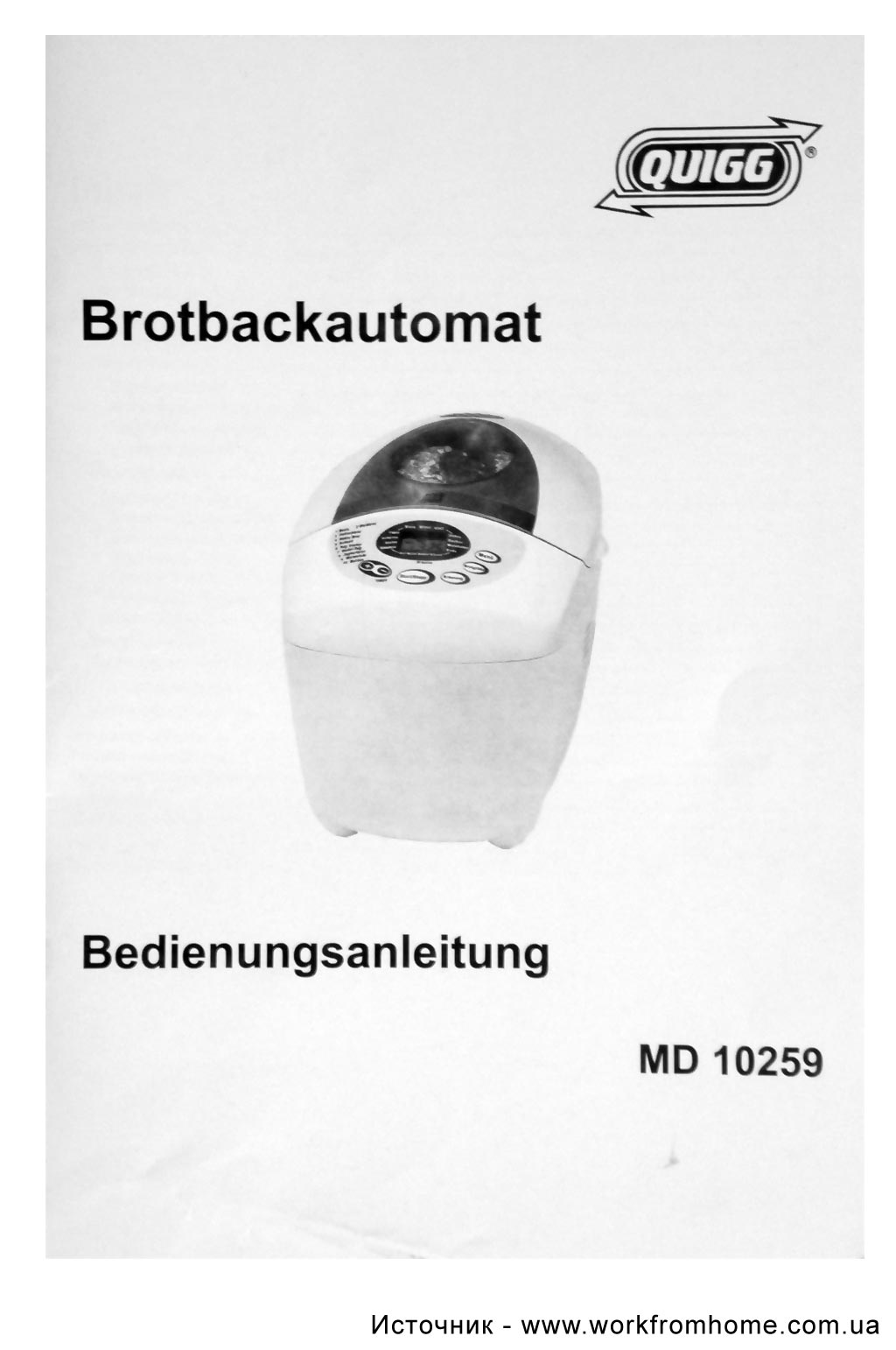 Fif Brotbackautomat Cbm 2000 Bedienungsanleitung Pdf