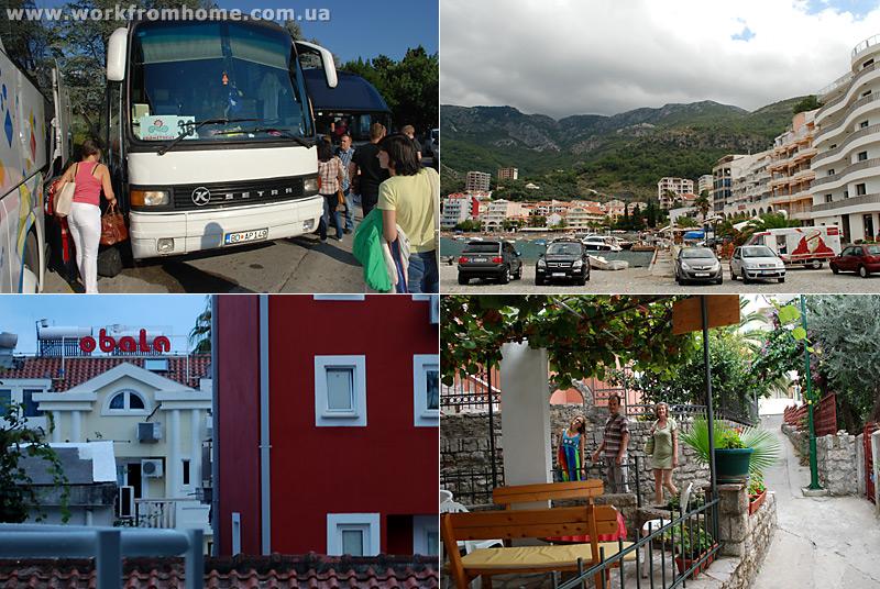 Поездка в Черногорию - прилёт в Тиват